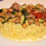Snelle Marokkaanse stoofschotel met kip en groenten