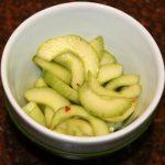 Thaise salade met komkommer en limoen