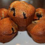 Muffins met bosbessen; recept; recepten; zoet; muffin; cake; bosbes; bosbessen; bosbessenmuffin