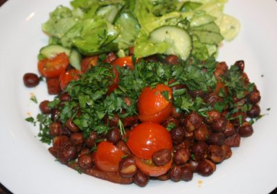 Kapucijners met chorizo en tomaten; recept; recepten; hoofdgerecht; hoofdgerechten; kapucijners; tomaat; tomaten; chorizo; slank; snel klaar; koolhydraatarm