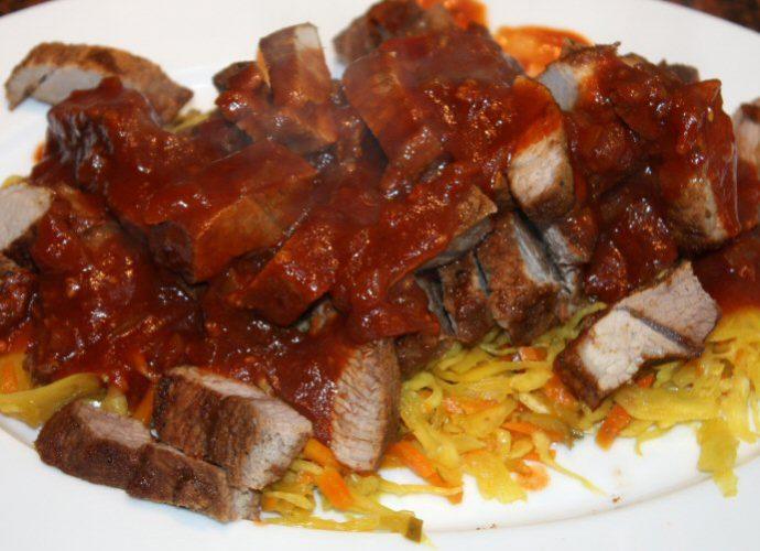 Babi Pangang; recept; recepten; hoofdgerecht; hoofdgerechten; chinees; oosters; varkensvlees; zoetzuur; atjar;