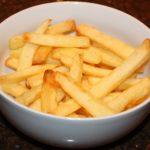Zelfgemaakte patat