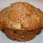 Muffins met banaan en kaneel