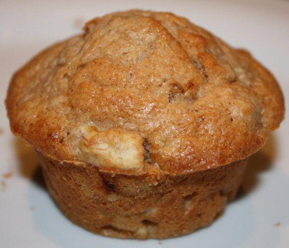 Muffins met banaan en kaneel; recept; recepten; banaan; kaneel; donna hay; cake; muffin