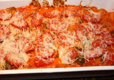 ravioli met romige tomatensaus, recept, recepten, hoofdgerecht, hoofdgerechten, pasta, italiaans, mediterraan, ovenschotel