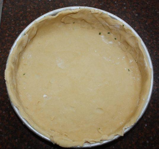 Deeg voor hartige taart of quiche; recept; recepten; hartige taart; quiche; deeg; bodem