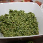 Rucolapesto met walnoten en Parmezaanse kaas