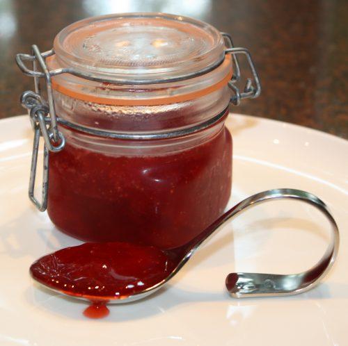 Zelfgemaakte aardbeienjam; recept; recepten; ontbijt; lunch; jam; aardbei; aardbeien; confiture;