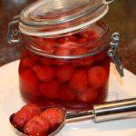 aardbeien inmaken; recept; recepten; aardbei; aardbeien; inmaken; wecken;