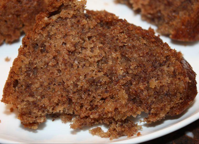 Cake met koffie en pecannoten; recept; recepten; cake; zoet; koffie; espresso; pecannoot; pecannoten;
